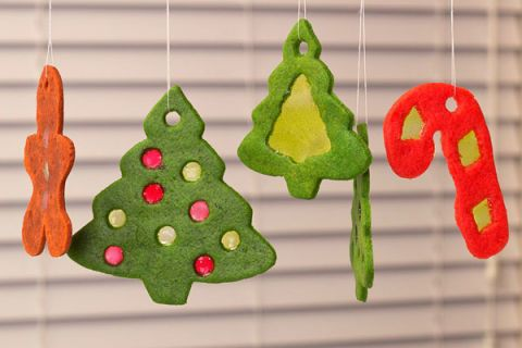 "<p> </p> <p><strong>Get the recipe from <a href=""http://sugarkissed.net/stained-glass-christmas-cookiesn-edible-ornaments/"" target=""_blank"">Sugarkissed</a>.</strong></p>"
