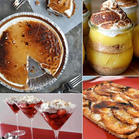 <p>It's one thing to light some candles on Valentine's Day, but why not ignite the passion by setting your dessert aflame? Get the mood going with these torched, fiery, and flambéed sweets that are guaranteed to heat things up — in the kitchen and beyond.</p>