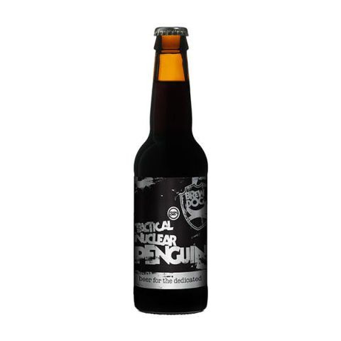 "<p><strong>Brewer:</strong> BrewDog</p> <p><strong>Country:</strong> Scotland</p> <p><strong>Style:</strong> Imperial Stout</p> <p><strong>ABV:</strong> 32%</p> <p>Like any Imperial Stout, Tactical Nuclear Penguin has some deep, dark notes — molasses and caramel are often cited — but the overwhelming taste is alcohol. According to the <a href=""http://www.brewdog.com/blog-article/214"" target=""_blank"">BrewDog blog</a>, the name is inspired by ""the amount of time it spent exposed to extreme cold,"" or the process by which they got it to pack such a powerful alcoholic punch. The beer is kept at freezing temperatures and the frozen water crystals are removed, resulting in a more concentrated beer. This is also where the long running feud between BrewDog and German brewery Schorschbräu began.</p>"