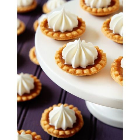 "<p>Pumpkin and chocolate cupcakes combine the classic colors and flavors of Halloween.</p> <p><strong>Get the recipe from <a href=""http://www.mybakingaddiction.com/mini-pumpkin-pies/"" target=""_blank"">My Baking Addiction</a>.</strong></p>"