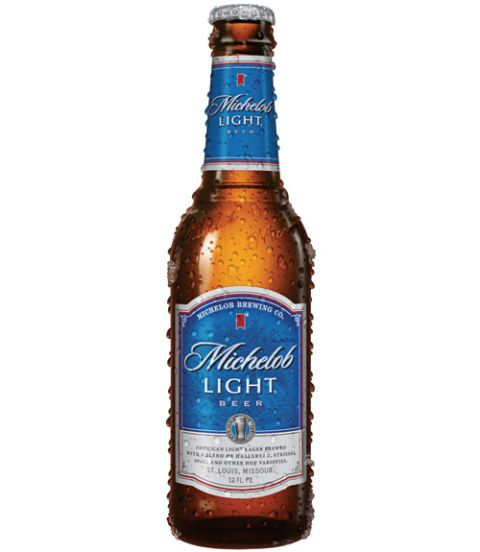 "<p>Most of our testers found Michelob Light clean and crisp, as well as ""slightly sweet."" A few thought this lager tasted thin, with one tester describing it as ""flavorless"" and ""college-like.""($29.99 for a case of 24)  Calories per bottle: 122 </p>"