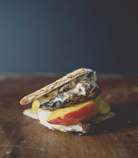 "<p>By trading in chocolate squares for peaches, summer s'mores just got a whole lot healthier. </p> <p><strong>Recipe:</strong> <a href=""http://www.thekitchykitchen.com/?recipes=/smeaches/"" target=""_blank"">S'Meaches</a> </p> <p><strong>Plus: </strong><a href=""http://vimeo.com/28647609"" target=""_blank"">Watch this video to learn how to create the perfect ""Smeach.""</a></p>"
