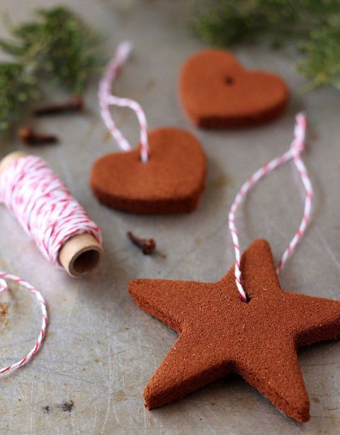 "<p> </p> <p><strong>Get the recipe from <a href=""http://www.completelydelicious.com/2012/11/homemade-cinnamon-ornaments.html"" target=""_blank"">Completely Delicious</a>.</strong></p>"