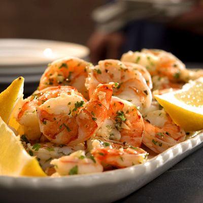 "<p>Marinating precooked shrimp in garlic- and lemon-infused oil creates a simple yet elegant appetizer.</p><br /> <p><b>Recipe: </b><a href=""/recipefinder/lemon-garlic-marinated-shrimp-recipe-5643"" target=""_blank""><b>Lemon-Garlic Marinated Shrimp</b></a></p>"
