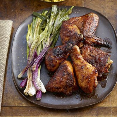 """<p>This zesty, garlicky chicken spices up your usual dinner routine and will leave the entire family craving seconds. Paired with packaged yellow rice and peas, dinner will be on the table fast with minimal fuss.</p><br /><p><b>Recipe: <a href=""""/recipefinder/smoked-paprika-garlic-chicken-recipes""""target=""""_new"""">Smoked Paprika-Garlic Chicken</a></b></p>"""
