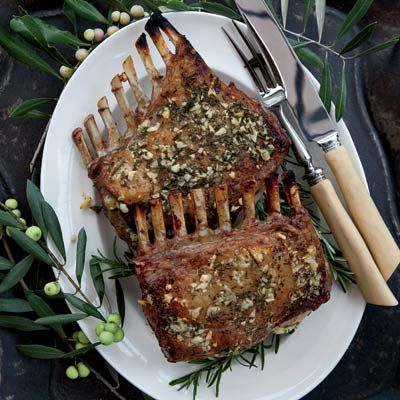 "<p>Kenny Rochford's favorite way to prepare a rack of lamb is to simply rub it with plenty of garlic, rosemary, olive oil, and salt before roasting.</p> <p><strong>Recipe:</strong> <a href=""../../../recipefinder/garlic-crusted-roast-rack-of-lamb-recipe-fw0411"" target=""_blank""><strong>Garlic-Crusted Roast Rack of Lamb</strong></a></p>"