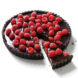"<p>This simple, decadent tart will keep overnight in the refrigerator (top with raspberries just before serving). Try it with vanilla ice cream or whipped cream.</p> <p><strong>Recipe:</strong> <a href=""../../../http://www.delish.com/recipefinder/chocolate-raspberry-tart-recipe-mslo0513"" target=""_blank""><strong>Chocolate-Raspberry Tart</strong></a></p>"