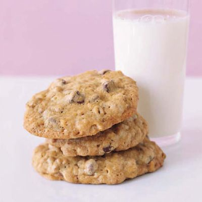"<p>Boasting multifaceted texture (thanks to rolled oats and Grape Nuts cereal) and deep, rich chocolate chips, these crispy cookies will win converts in your household.</p><p><b>Recipe: <a href=""/recipefinder/chocolate-chip-cookies-desserts"" target=""_blank"">Chocolate Chip Cookies</a> </b></p>"
