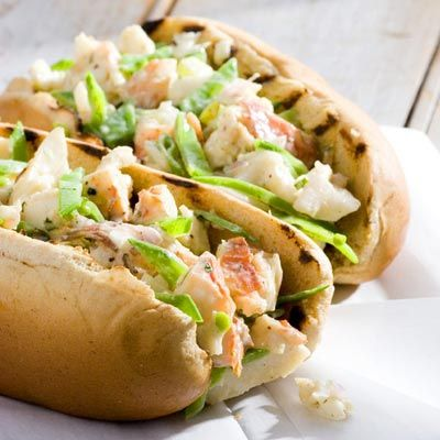"<p>All around Maine's Penobscot Bay, lobster rolls set the standard for homey, simple, Down East fare. Dish up these light but creamy sandwiches at a Maine-themed cookout.</p><p><b>Recipe:</b> <a href=""/recipefinder/grilled-lobster-rolls-recipe-5535""><b>Grilled Lobster Rolls</b></a></p>"