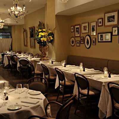 "<p>With its beautifully framed family photos, this Italian restaurant (no relation to Mario Batali's Babbo in New York City) exudes warmth and rusticity. Chef Douglas Santi brings his experience with Alain Ducasse's fine-dining empire to house-made pastas and regional dishes like Tuscan veal cheeks in red wine sauce.</p>  <p><i>39 Albemarle St.; 44-20-32-05-10-99; <a href=""http://www.babborestaurant.co.uk"" target=""_blank"">babborestaurant.co.uk</a></i></p>"