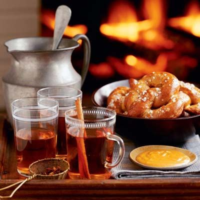 "<p>Hot soft pretzels ""right from the oven"" make a satisfying snack with our <a href=""/recipefinder/cheese-mustard-dipping-sauce-3790""><b>Cheese and Mustard Dipping Sauce</b></a>.</p>  <b>Recipe:</b> <a href=""/recipefinder/hot-soft-pretzels-3602""><b>Hot Soft Pretzels with Cheese and Mustard Dipping Sauce</b></a>"