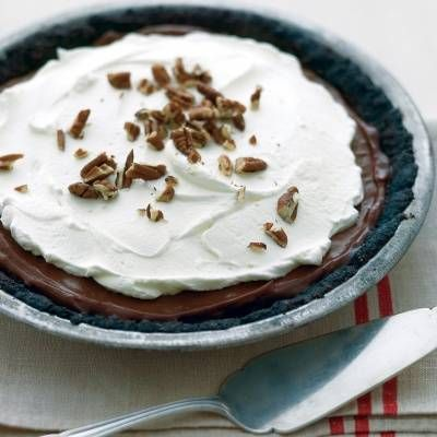 "<p>This popular pie is sure to please everyone's sweet tooth and is very simple to make.</p><p><b>Recipe:</b> <a href=""http://www.delish.com/recipefinder/mississippi-mud-pie-recipe-mslo1213""><b>Mississippi Mud Pie</b></a></p>"