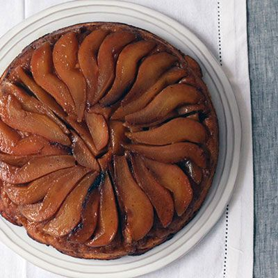 Ginger and Pear Upside Down Cake Recipe