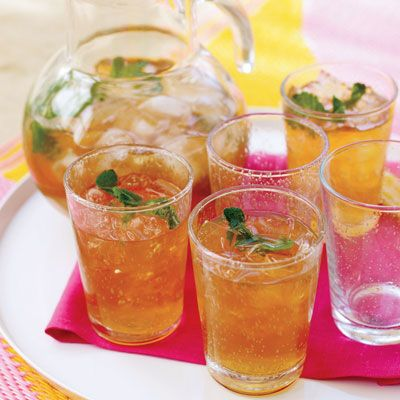 "<p>Flavored with fresh mint and lime juice, this refreshing iced tea is well-suited to accompany almost any type of food.</p>  <p><b>Recipe:</b> <a href=""/recipefinder/minty-iced-tea""><b>Minty Iced Tea</b></a></p>"