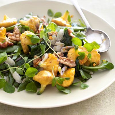 """<p>Make pattypan squash as fast as you can, with flash-sautéed ramps and sugar snap peas, then finish it off with a tangle of fresh pea tendrils and a handful of toasted walnuts.</p><p><b>Recipe: <a href=""""/recipefinder/sauteed-ramps-sugar-snap-peas-pattypan-squash-opr0410-recipe"""">Sautéed Ramps, Sugar Snap Peas, and Pattypan Squash</a></b></p>"""