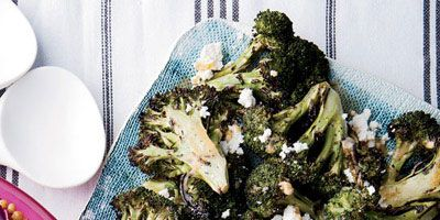 """<p>If you've never tried grilling broccoli, you are definitely missing out: The vegetable becomes tender and deliciously charred slowly but surely.</p> <p><strong>Recipe:</strong> <a href=""""../../../recipefinder/grilled-broccoli-chipotle-lime-butter-queso-fresco-recipe-fw0612"""" target=""""_blank""""><strong>Grilled Broccoli with Chipotle-Lime Butter and Queso Fresco</strong></a></p>"""