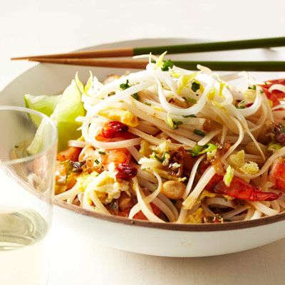 "<p>This is a great, fast version of American-style pad thai, with an appealing combination of sweet, sour, and spicy flavors. Look for the noodles in the Asian section of markets.</p><p><b>Recipe: </b><a href=""/recipefinder/quick-shrimp-pad-thai-recipe-fw0511"" target=""_blank""><b>Quick Shrimp Pad Thai</b></a></p>"