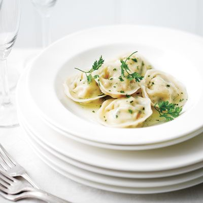 """<p>Prawn and scallop tortellini is a perfect summer dinner. The creaminess of the goat cheese mixed with the seafood creates a nice blend of textures.</p> <p><strong>Recipe:</strong> <a href=""""../../../recipefinder/prawn-scallop-tortellini-recipe-del0312"""" target=""""_blank""""><strong>Prawn and Scallop Tortellini</strong></a></p>"""