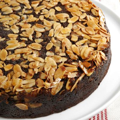 "<p>Courtesy of Gale Gand from her cookbook, <i>Chocolate and Vanilla</i>, this light buttermilk chocolate cake is baked on a bed of butter, sugar, and toasted almonds, creating a soaked-in caramel coating when removed from the pan.</p><p><b>Recipe:</b> <a href=""/recipefinder/chocolate-almond-upside-down-cake-recipe-mslo110""><b>Chocolate Almond Upside-Down Cake</b></a></p>"