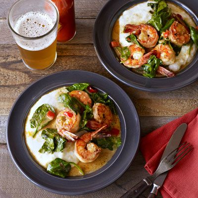 "<p>Ready in just ten minutes, this easy grits recipe is perfect on its own for breakfast, or as an accompaniment for a dish such as <a href=""/recipefinder/creole-shrimp-recipe-opr0612""target=""_blank"">Creole Shrimp</a>.</p> <p><strong>Recipe:</strong> <a href=""../../../recipefinder/cheddar-grits-recipe-opr0612"" target=""_blank""><strong>Cheddar Grits</strong></a></p>"