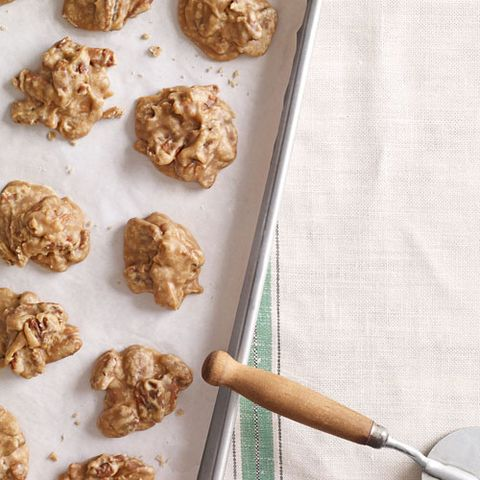 <p>No Mardi Gras fete's menu would be complete without some sort of sweet treat filled with pecans, and these pralines will hit the spot after a spicy meal.</p>