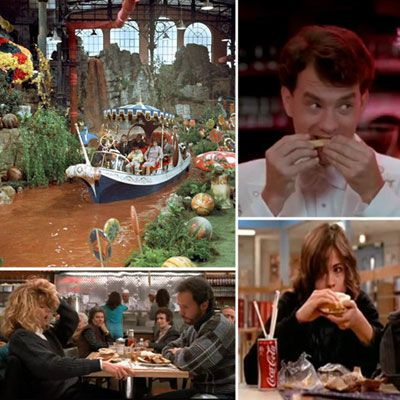 In some movie scenes, it's not the actors that steal the show — it's the food. We're looking back on some of the most memorable food moments in film!