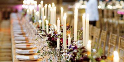 """Begin your caterer search at the same time you're looking at venues (about 12 months before your wedding date). The two decisions really go together since many venues have their own catering team and may require you to use them. Even if that's not the case, they may still have a """"preferred list"""" of vendors they work with exclusively. If you are allowed to bring in an outside caterer, you may be charged a little extra, so request a tasting with the in-house chef or any potential caterers from the preferred list before booking the venue. Also, review menu options with the chef, especially if you have particular dishes in mind—some menus can be difficult to execute, based on kitchen space or equipment. If you're set on using a specific caterer, make sure they're on the venue's list or that you budget for any extra fees if they're not. Just remember: There's a reason venues like to work with certain vendors."""