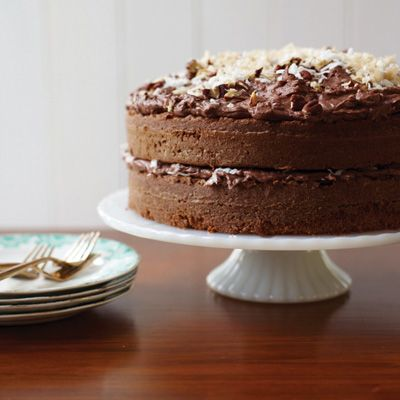 """<p>Sam German created the mild, dark baking chocolate called Baker's German's Sweet Chocolate in 1852; in the late 1950s, a Dallas newspaper published a recipe for German's Chocolate Cake. The dessert took the South by storm and has been a staple ever since.</p><p><b>Recipe: </b><a href=""""/recipefinder/german-chocolate-cake-recipe-fw0811"""" target=""""_blank""""><b>German Chocolate Cake</b></a></p>"""