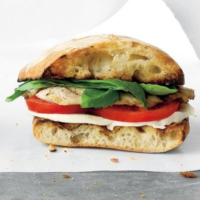 "<p>This sandwich combines a grilled turkey cutlet and the makings of an Italian Caprese salad in a rustic ciabatta roll.</p> <p><b>Recipe:</b> <a href=""recipefinder/turkey-caprese-sandwich-recipe-mslo0712""><b>Turkey Caprese Sandwich</b></a></p>"
