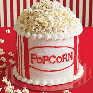 "<p>In need of a sweet and salty treat to please your favorite film-lover? This creative cake, shaped like a tub of a classic movie theater treat and topped with real popcorn, is just the thing. </p><p><b>Recipe:</b> <a href=""/recipefinder/tub-of-popcorn-cake-122090""><b>Tub of Popcorn Cake </b></a></p>"