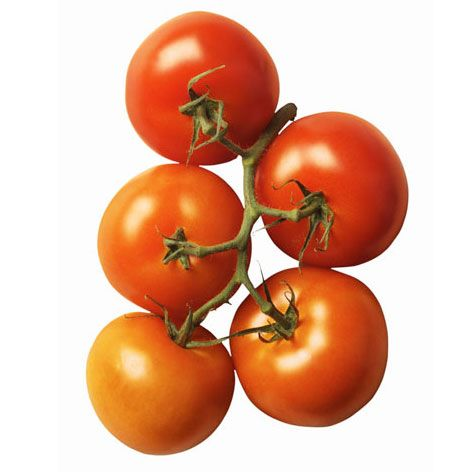 "While soft, mushy spots are never good, don't be deterred if a tomato is small or oddly shaped — or even a color other than red. If it's decked in green stripes, orange, yellow or inky purple, chances are it's an heirloom tomato, a special variety that's higher in sugar and acid. ""They typically have a good, strong flavor,"" says Jessica Kerstein of Lipman Produce. While they're bred for their taste, Roma tomatoes — the most common supermarket variety — are bred for shelf-life. Oddly shaped Roma tomatoes are a different story. They weren't pollinated completely, explains Gerry Odell, chief farming officer for Lipman. Wind and extreme temperatures can also cause a tomato to be flat or ridged in parts. ""Although they're fine to eat, they tend to be less flavorful,"" he says."