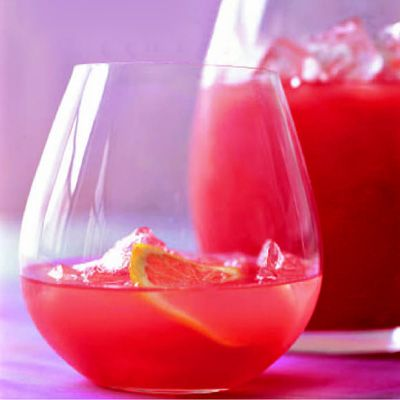 "<p>For a twist on lemonade, chef Rozanne Gold stirs in pureed watermelon. ""You can adjust the level of sweetness by experimenting with the amount of honey and lemon,"" she says. ""And during cocktail hour, you might add a fourth ingredient — vodka.""</p><br /> <p><b>Recipe: </b><a href=""/recipefinder/watermelon-lemonade-drink-recipes"" target=""_blank""><b>Watermelon Lemonade</b></a></p>"