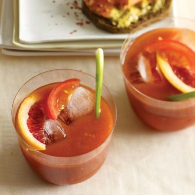 <p>This tangy Sunday brunch cocktail borrows ingredients from two drinks — a Bloody Mary and a screwdriver — for an unexpected twist.</p>