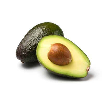 "The green, creamy flesh of an avocado isn't just tasty—it's also filled with fiber and heart-healthy monounsaturated fat. In other words, avocados might be the perfect fill-you-up food. ""Foods high in fiber and rich in fat take longer to digest, allowing you to experience less overall hunger — and possibly take in fewer calories,"" says <a href=""http://www.erinpalinski.com"" target=""_blank"">Erin Palinski</a>, RD, CDE, LDN, CPT, author of the forthcoming <a href=""http://www.amazon.com/Belly-Diet-Dummies-Health-Fitness/dp/1118345851/ref=sr_1_1?ie=UTF8&qid=1336373883&sr=8-1&tag=wd_autolinks-20"" target=""_blank"">Belly Fat Diet for Dummies</a>. Research also shows that avocados' oleic acid, a monounsaturated fat, tells your brain that your stomach is full. Just remember that, nutritious as they are, avocados are high in calories — stick to snacking on half the fruit (about 140 calories) each time."