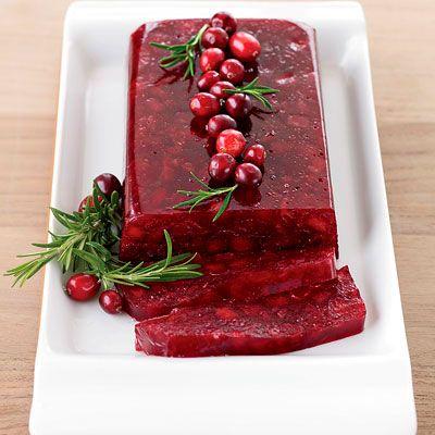 Jellied Cranberry Sauce With Fuji Apple Recipe