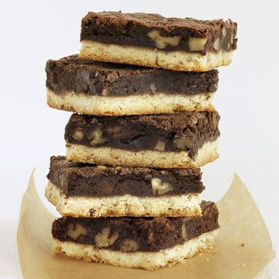 """<p>The best of both worlds, these bars combine a classic shortbread cookie with rich, chocolaty brownies.</p><p><strong>Recipe:</strong> <a href=""""../../../recipefinder/brownie-pecan-shortbread-bars-recipe-rbk1011"""" target=""""_blank""""><strong>Brownie-Pecan Shortbread Bars</strong></a></p>"""