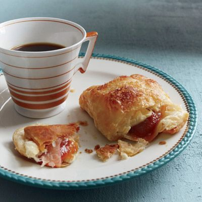 """<p>These delicious pastelitos (filled pastries) have a crisp, buttery puff-pastry shell. They're a great, easy-to-make dessert.</p><p><b>Recipe:</b> <a href=""""/recipefinder/guava-cream-cheese-pastries-recipe-fw1112"""" target=""""_blank""""><b>Guava-Cream Cheese Pastries</b></a></p>"""