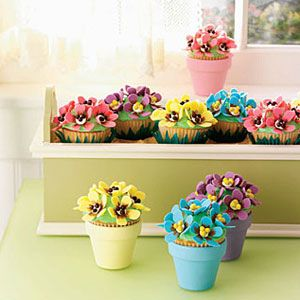 "<p>Update your go-to spring cupcakes with these cute Pansy Cupcakes!</p><p><b>Recipe: </b><a href=""/recipefinder/pansy-cupcakes-121906"" target=""_blank""><b>Pansy Cupcakes</b></a></p>"
