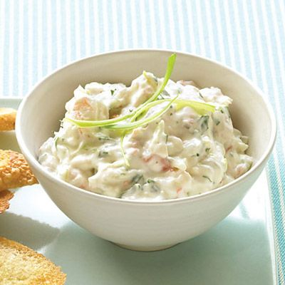 <p>Since this dip calls for chopped shrimp, choosing a bag of smaller-size shrimp is cost-effective.</p><br />
