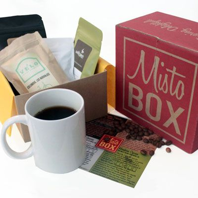 Coffee connoisseurs won't be able to get enough of these monthly packages. The folks at MistoBox taste over 50 coffees a month and select their favorite four to send to customers. Recipients can try each different single origin roast and any preferred brands are available in full-sized bags on the website.