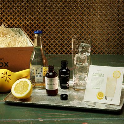 Sign up for Julibox and get ready to do some cocktail mixing. The monthly delivery features two cocktail recipes complete with all of the spirits and mixers necessary to make the drinks. Seasonal recipes are an added plus.