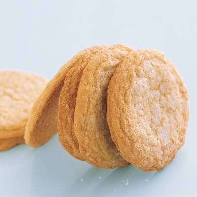 "<p>These large cookies have a classic lemony flavor, a chewy texture, and glistening, crackly tops created with a double sprinkling of sanding sugar.</p> <p><strong>Recipe: <a href=""http://www.delish.com/recipefinder/old-fashioned-lemon-sugar-cookies-recipe-mslo0214"" target=""_blank"">Old-Fashioned Lemon Sugar Cookies</a></strong></p>"