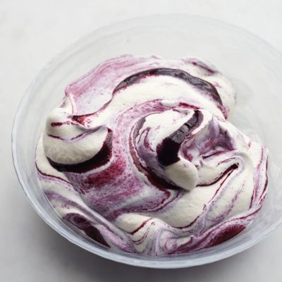 """<p>A fool is an ideal make-ahead dessert. For a very creamy, thick fool with defined streaks of puree, serve it the same day. For a more ethereal, mousselike texture, you can chill it overnight. The color from the puree will gradually bleed into the whipped cream as the fool chills, but it will still be pretty.</p> <p><strong>Recipe:</strong> <a href=""""http://www.delish.com/recipefinder/blueberry-fool-recipe-mslo0713"""" target=""""_blank""""><strong>Blueberry Fool</strong></a></p>"""