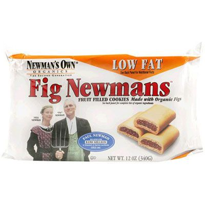 <p>Remember trying to trade your boring applesauce cup for a couple of Fig Newtons in the school cafeteria? We do too! Luckily, Newman's Own has their own line of these sweetly delicious cookies, called Fig Newmans. They're all-natural and all-grown-up goodness. NewmansOwnOrganics.com</p>