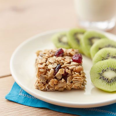 """<p>These little homemade granola bars are packed with crunchy nuts, tart chewy cherries, and totally crave-worthy.</p><p><b>Recipe: </b><a href=""""http://www.delish.com/recipefinder/cherry-nut-granola-squares-recipe-ghk0413"""" target=""""_blank""""><b>Cherry-Nut Granola Squares</b></a></p>"""