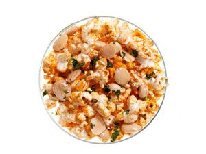 """<p>Crunchy Marcona almonds and paprika give this popcorn a Spanish flair.</p><p><b>Recipe: </b><a href=""""http://www.delish.com/recipefinder/smoky-spanish-almond-popcorn-recipe-rbk0313"""" target=""""_blank""""><b>Smoky Spanish Almond Popcorn</b></a></p>"""