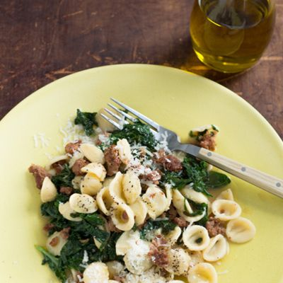 <p>One of Michael Symon's favorite pastas, this features some standout ingredients that hold their own in a bowl full of all-stars. It takes closer to 6 minutes, but it's entirely worth it!</p>