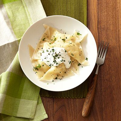 "<p>Enjoying foreign fare doesn't have to mean hours in the kitchen. These Eastern European dumplings will have you sitting down to dine before you know it.</p> <p><strong>Recipe: <a href=""http://www.delish.com/recipefinder/pierogies-recipe-ghk1112"" target=""_blank"">Pierogies</a></strong></p>"