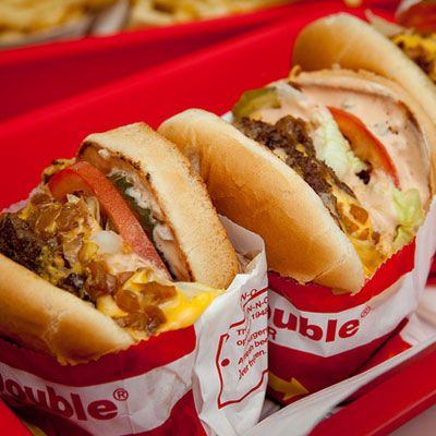 To say that this West coast-born burger chain has a cult following is an understatement. The extremely popular fast food joint only has locations in the states of California, Arizona, Nevada, Texas, and Utah. However, the In-N-Out signature Double Double is known and craved worldwide. Out-of-range fans have been known to bring these burgers on planes and even have friends freeze and ship them. An In-N-Out pop-up in Singapore, where it would seem that the chain was less widely known, sold out in five minutes flat.