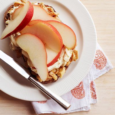 """<p>Crunchy peanut butter, cream cheese, and sliced pears are an unlikely combination that create a satisfying dessert sandwich or sweet snack for any time of the day.</p><p><strong>Recipe:</strong> <a href=""""../../../recipefinder/pb-pear-cream-cheese-recipe-ghk0812"""" target=""""_blank""""><strong>PB, Pear, and Cream Cheese</strong></a></p>"""